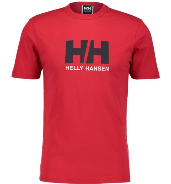 Helly Hansen So Logo Tee Ii M T-paidat RED (Sizes: XXL)