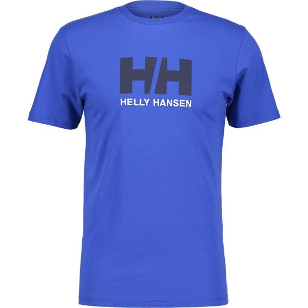 Helly Hansen So Logo Tee Ii M T-paidat OLYMPIAN BLUE (Sizes: XXL)