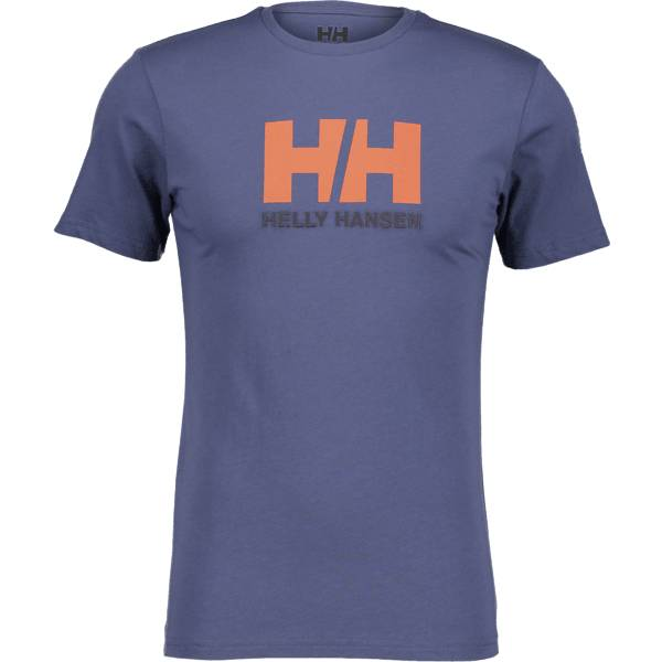 Helly Hansen So Logo Tee Ii M T-paidat VINTAGE INDIGO (Sizes: S)
