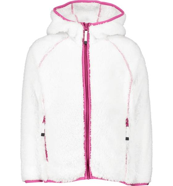 Cross Sportswear So Fur Fleece Jr Yläosat OFFWHITE/FUCHSIA (Sizes: 122-128)