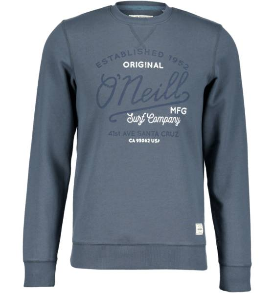 Oneill Yläosat Oneill So Type Crewneck M DARK SLATE (Sizes: M)