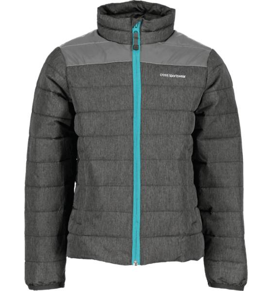 Cross Sportswear So Light Jacket Jr Takit GREY MELANGE/REFLE (Sizes: 122-128)