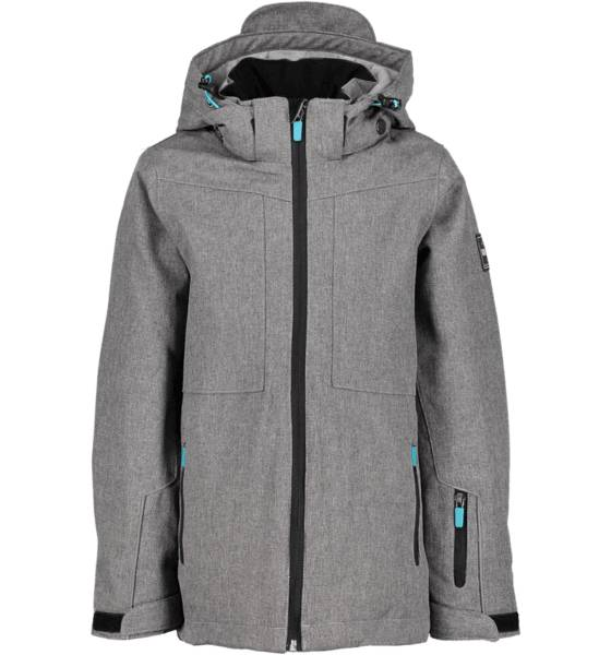 Dr Zipe Takit Dr Zipe So Board Jkt Jr GREY MELANGE (Sizes: 122-128)