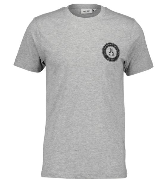 Wesc So Chest Tee M T-paidat GREY MELANGE (Sizes: XL)