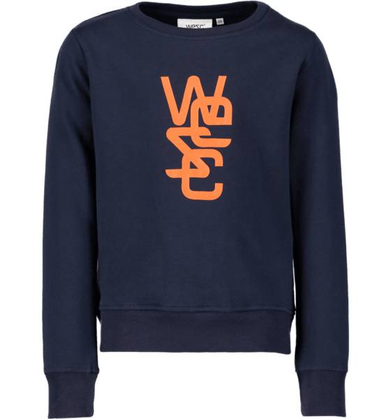 Wesc Yläosat Wesc So Overlay Crew Jr NAVY (Sizes: 140)