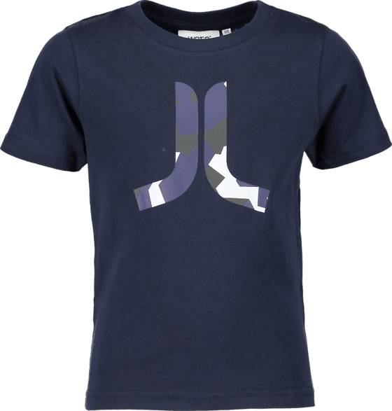 Wesc T-paidat & topit Wesc So In Icon Tee Jr NAVY (Sizes: 160)