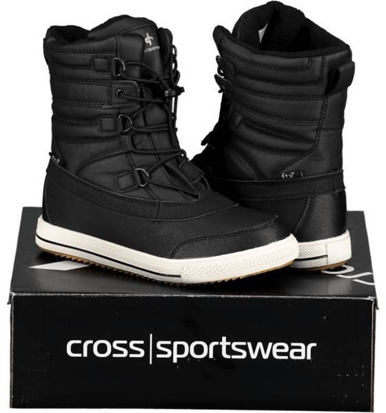 Cross Sportswear Varsikengät & saappaat Cross Sportswear So Stavanger Hi Jr BLACK (Sizes: 31)