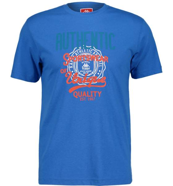 Kappa So Zaigh Tee Ii M T-paidat AZZURO BLUE (Sizes: S)