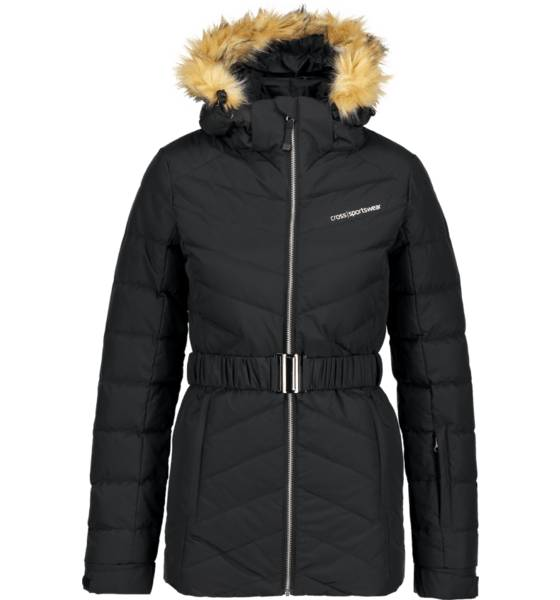Cross Sportswear So Aspen Down Jacket W Takit BLACK (Sizes: XS)