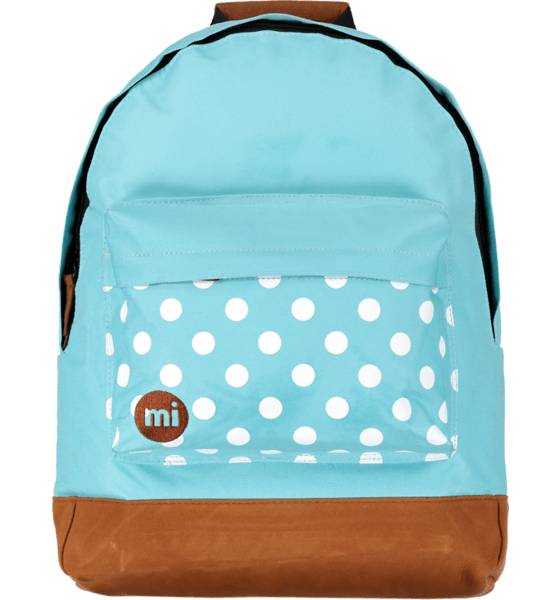 Mi Pac Outdoor Mi Pac So Polka Backpack TURQUISE/WHITE (Sizes: One size)