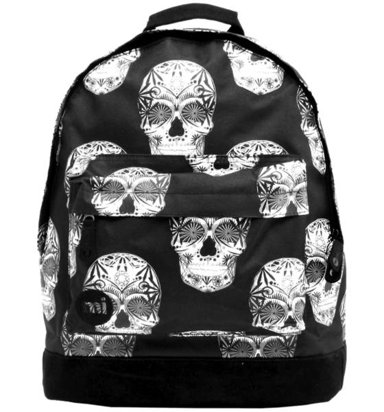 Mi Pac Outdoor Mi Pac So Skulls Backpack BLACK (Sizes: One size)