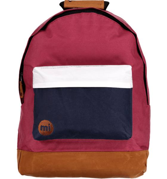 Mi Pac Outdoor Mi Pac So Tonal Backpack WINE RED/WHITE (Sizes: One size)