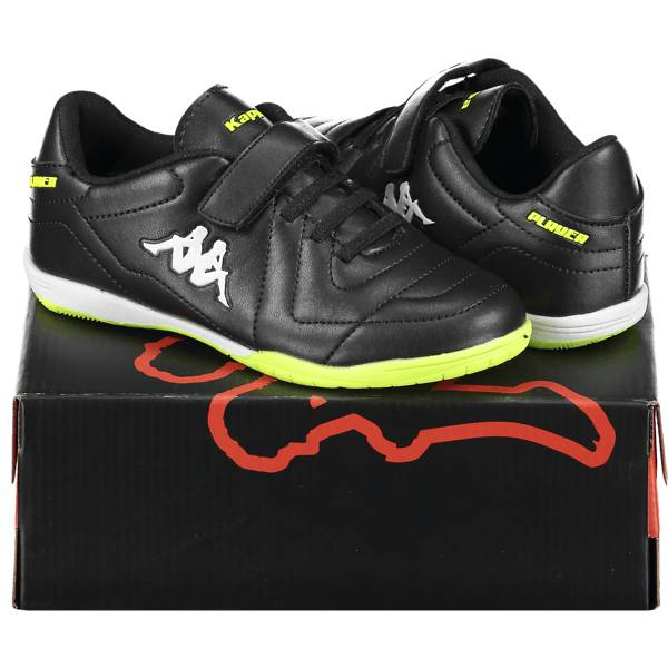 Kappa So 4 Player Ic Jr Jalkapallo BLACK/LIME (Sizes: 35)