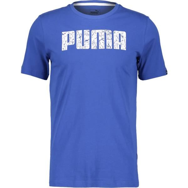 Puma So Graphic Tee M T-paidat BLUE (Sizes: L)