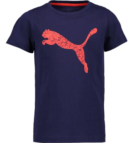 Puma So Graphic Tee B Jr T-paidat & topit PEACOAT PUMA (Sizes: 164)