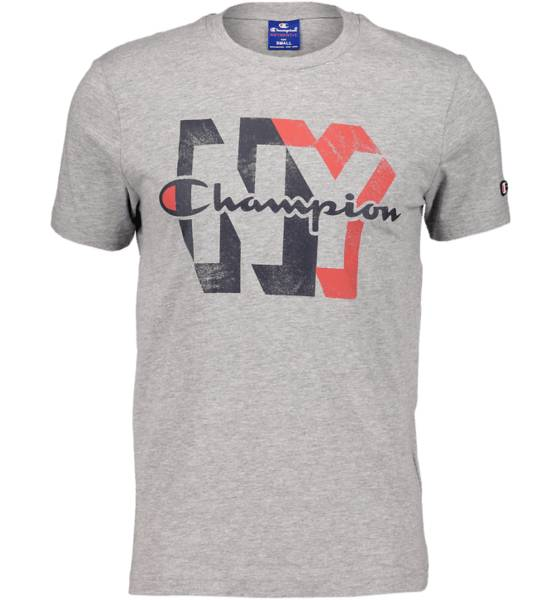 Champion So Vintage Tee M T-paidat LT GREY MELANGE (Sizes: L)