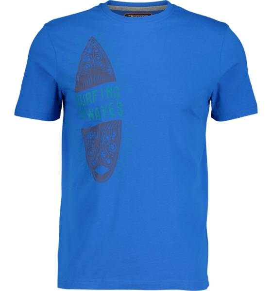 Kappa So Azew Tee M T-paidat BLUE FRANCE (Sizes: XXL)