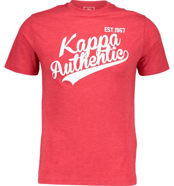 Kappa So Aut Vhivy Tee M T-paidat DARK RED (Sizes: S)