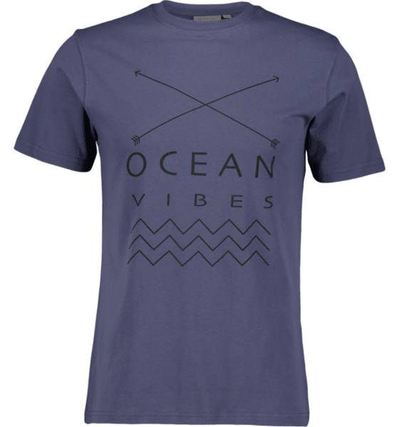 Tribute So Print Tee M T-paidat OCEAN BLUE (Sizes: XL)