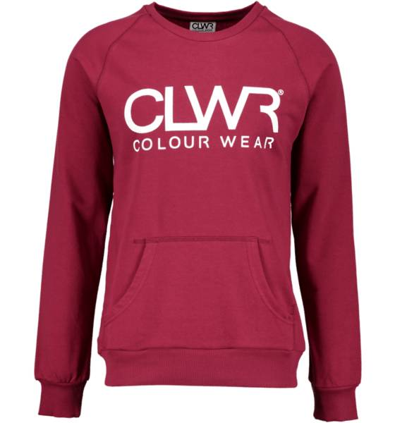 Colour Wear Yläosat Colour Wear So Crew M BURGUNDY (Sizes: XL)