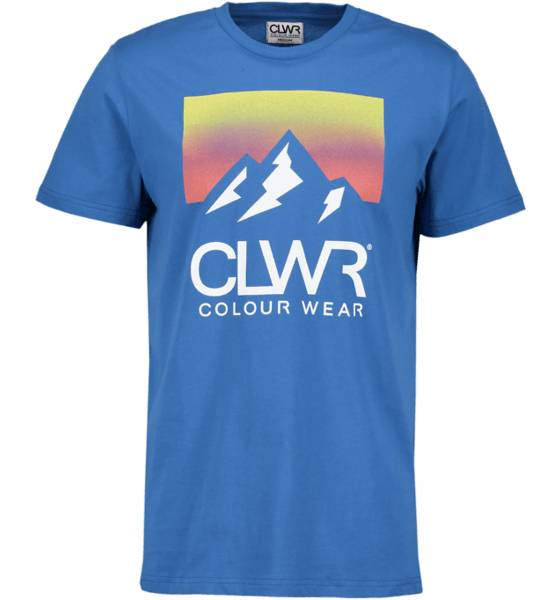 Colour Wear So Dawn Tee M T-paidat DEEP WATER BLUE (Sizes: M)