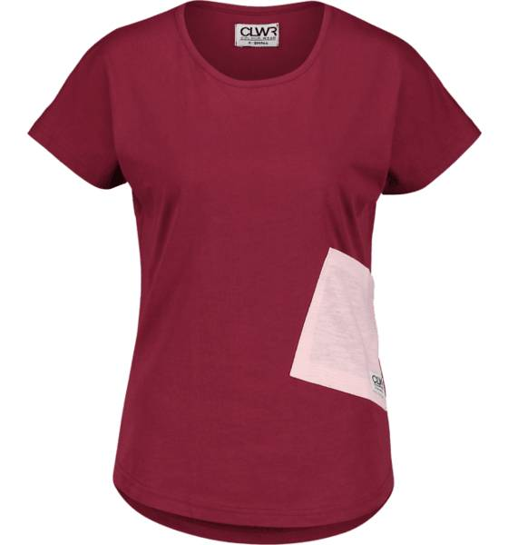 Colour Wear Topit Colour Wear So Hulk Top W BURGUNDY (Sizes: XS)