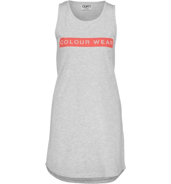 Colour Wear Topit Colour Wear So Shore Tank T W GREY MELANGE (Sizes: XS)