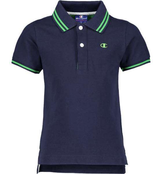 Champion So Polo Tee Jr T-paidat & topit NAVY/GREEN (Sizes: JR XS)