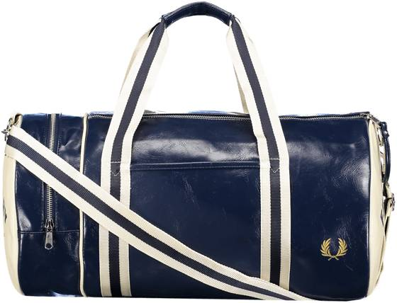 Fred Perry So Classic Barrel Bag Outdoor NAVY/ECRU (Sizes: One size)