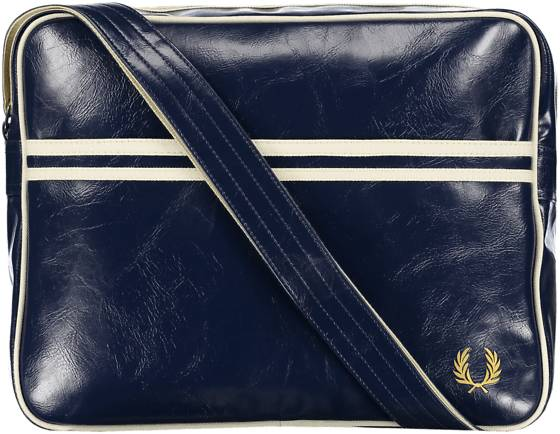 Fred Perry So Classic Shoulder Bag Outdoor NAVY/ECRU (Sizes: One size)