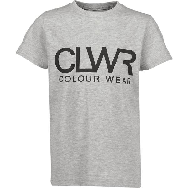 Colour Wear So Clwr Logotee Jr T-paidat & topit GREY MELANGE (Sizes: 150)