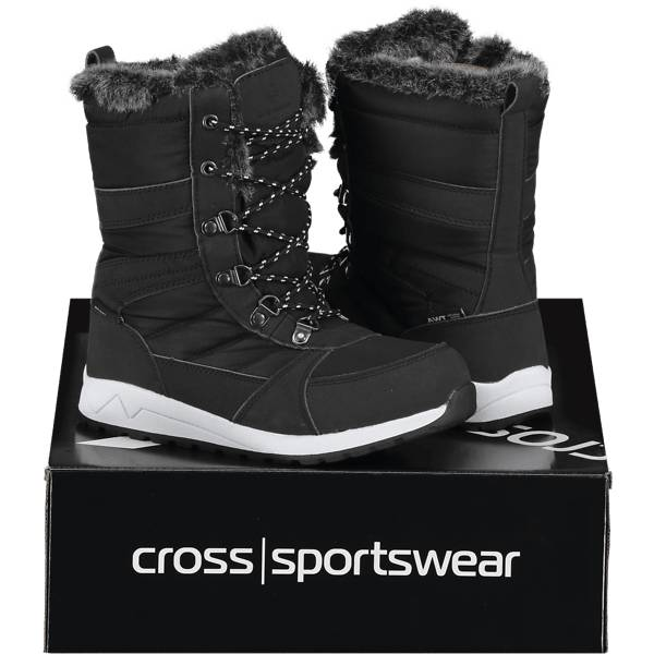 Cross Sportswear So Bergen Ii Jr Varsikengät & saappaat BLACK (Sizes: 32)