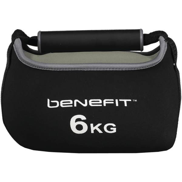 Benefit So S Kettlebell 6 Treeni BLACK/GREY (Sizes: No Size)