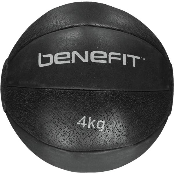 Benefit Weighted Rubber Balls 4kg Treeni BLACK/WHITE (Sizes: No Size)