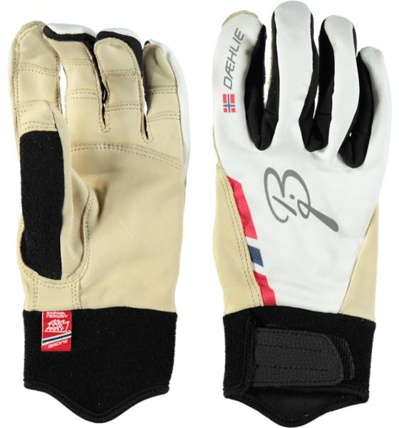Björn Dählie So Glove Race U Käsineet & lapaset SNOW WHITE (Sizes: XS)