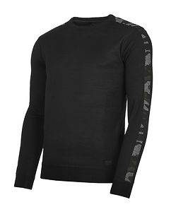 MZ72 Brand Shock Fine Knit Black