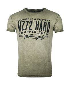 MZGZ Brand The Team T-Shirt Olive Green