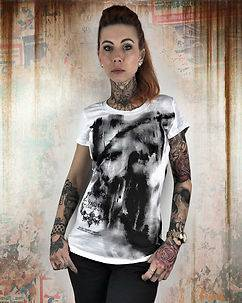 Yakuza Ink No Light Tee White