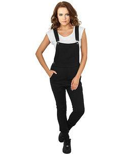 Urban Classics Ladies College Overall Black