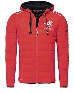 Geographical Norway Godfrey Jacket Red