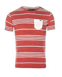 MZ72 Brand Tandory T-Shirt Red/White