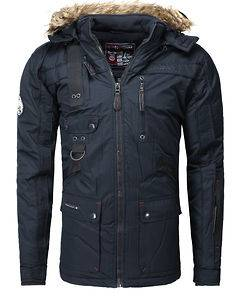 Geographical Norway Chir Parka Jacket Navy
