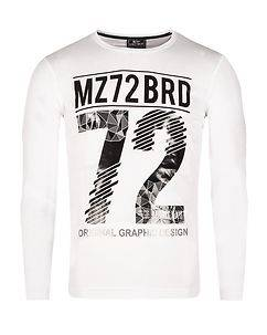 MZ72 Brand The Winter Longsleeve White