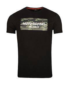 MZ72 Brand The Peak T-Shirt Black