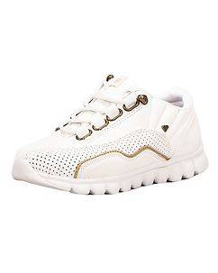 CASH MONEY Ventura Sneakers White/Gold