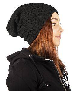 MZ72 Brand Happy Beanie Black