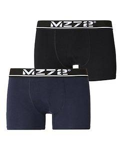 MZ72 Brand MZGZ Boxer Double Pack Black/Navy