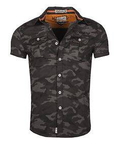 MZ72 Brand Cypress T-Shirt Black Camo