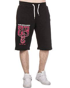 Yakuza Ink Se Levanta Sweat Shorts Black