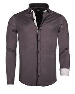 Rusty Neal Connor Shirt Grey/Black